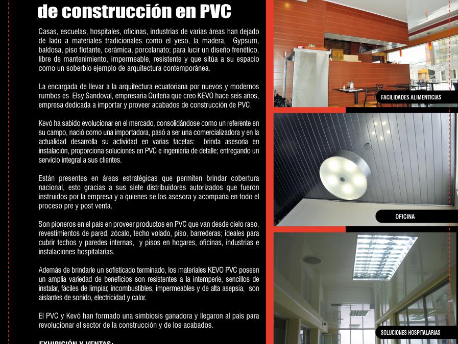 Suplemento «Constucción y Diseño» revista VISTAZO
