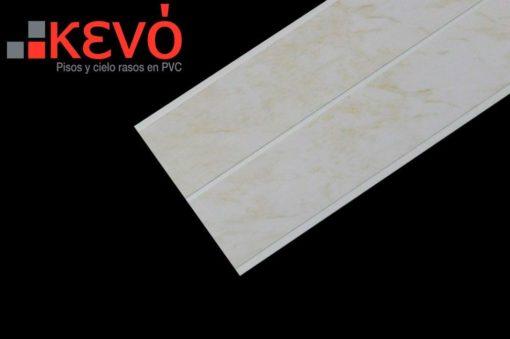 Panel KEVO PVC Blanco Acanalado mate para utilizar tanto en cielo raso, paredes, recubrimiento de paredes, divisiones paredes, techo volado y zócalos