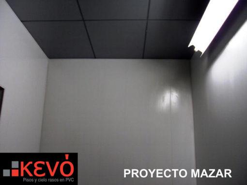 Pared en pvc proyecto hidroeléctrico Mazar
