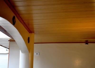 Techo volado madera maple
